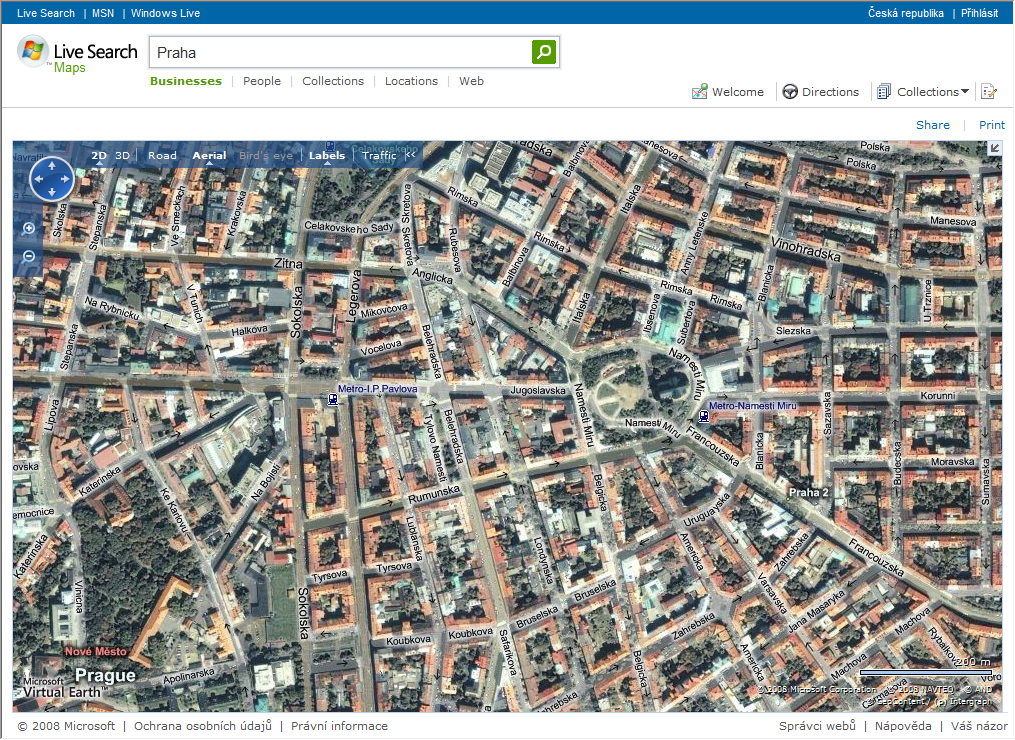 Live Search Maps Add-In for Microsoft Office Outlook ...