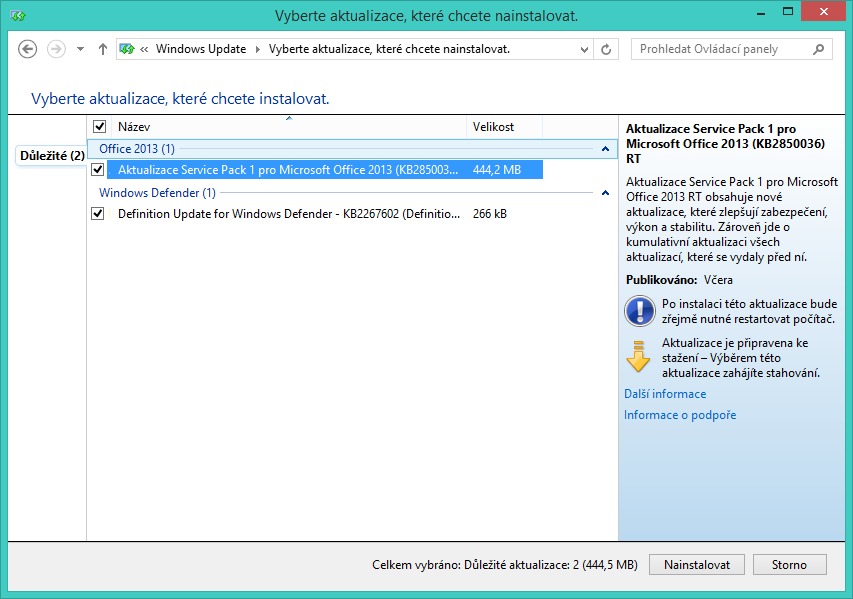 office 2013 service pack 2