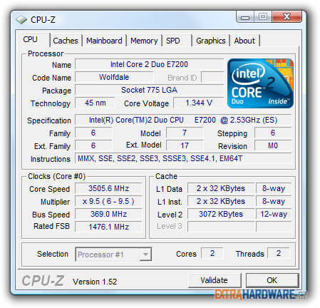 Cpu-Z w/ Turbo