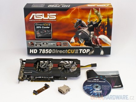 Test AMD Asus Radeon HD 7850  DrectCUII TOP-0031