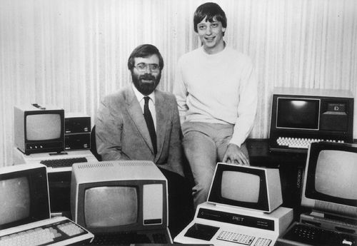 Paul Allen a Bill Gates