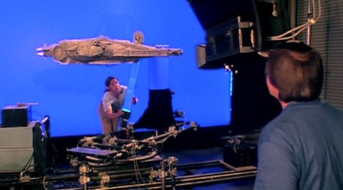 Chroma key Star Wars