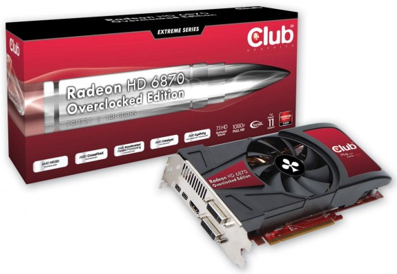 Club3D Radeon HD 6870 OC