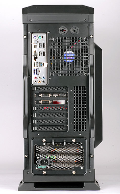Zalman GS1200 back