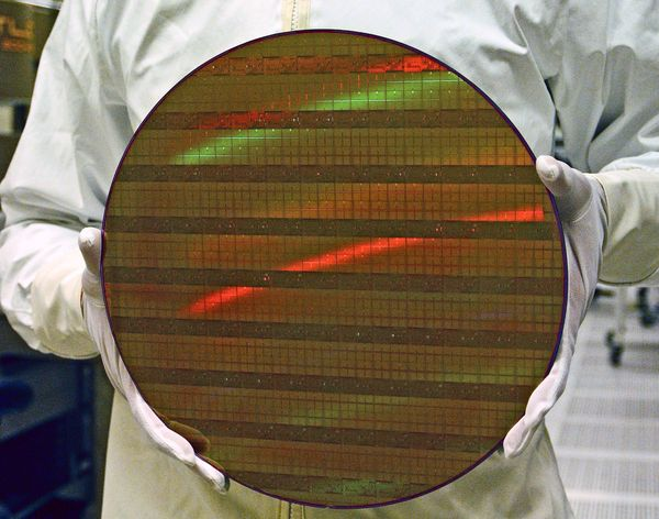 450mm wafer u Intelu