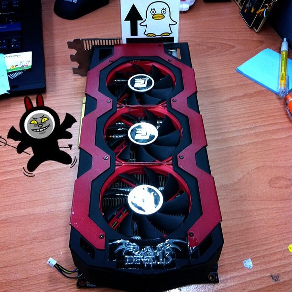 PowerColor Devil 13 Radeon HD 7970 X2