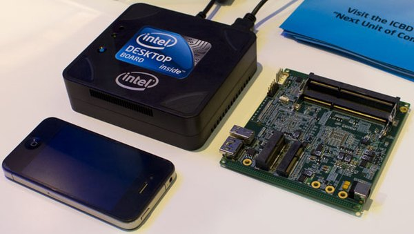 Miniaturizovaný desktop Intel Next Unit of Computing