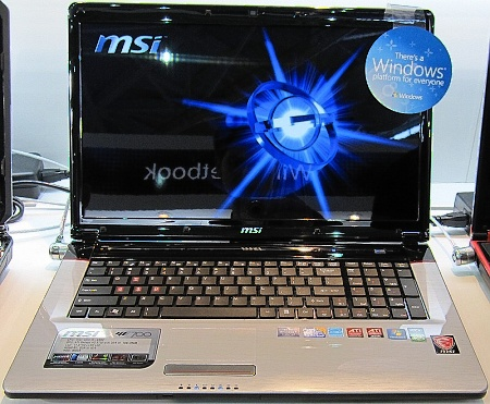 Notebook MSI GE700