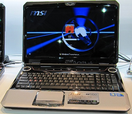 Notebook MSI GT660