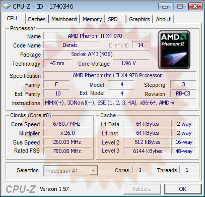 AMD Phenom II X4 970 BE