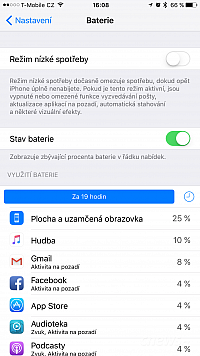 iOS 9.0 na iPhonu 6 Plus