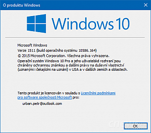 Windows 10 build 10586.164