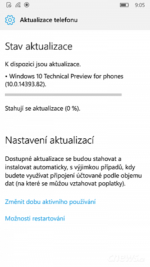 Windows 10 build 14393.82 je k dispozici