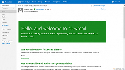 Hotmail Newmail