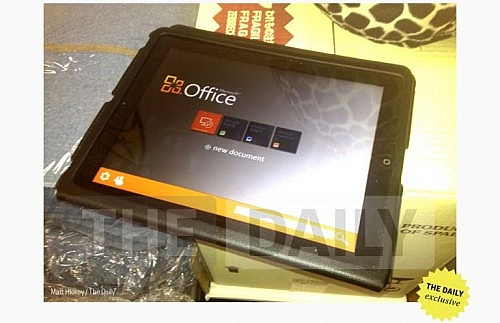 MS Office pro iOS (zdroj: The Daily)