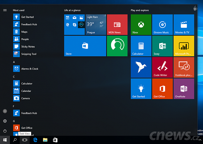 Windows 10 Insider Preview build 14997