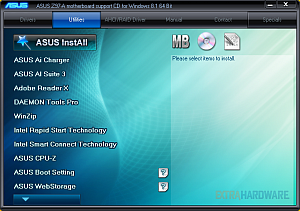 Asus Z97-A software