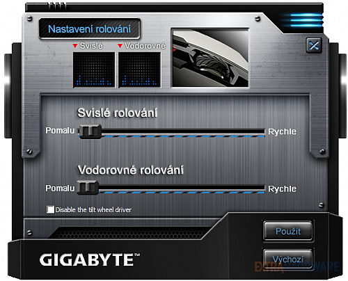Gigabyte Aivia M8600, GHOST