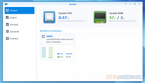 Synology na CeBITu - Docker