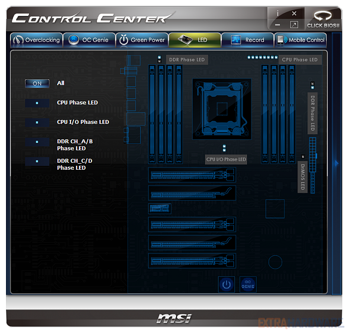 Drivers MSI X79A-GD45 Control Center