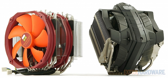 Thermalright Silver Arrow SB-E Extreme a Cooler Master V8 GTS