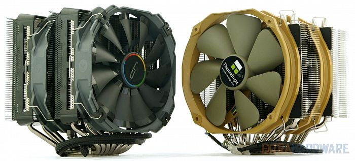 Cryorig R1 Ultimate vs. Thermalright Silver Arrow IB-E