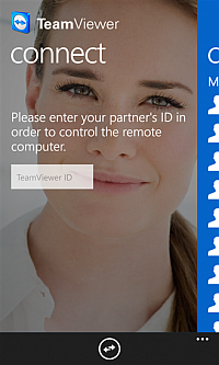 TeamViewer pro Windows Phone