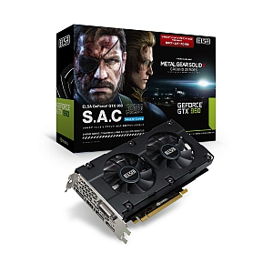 GTX 960 S.A.C Metal Gear Solid V edition