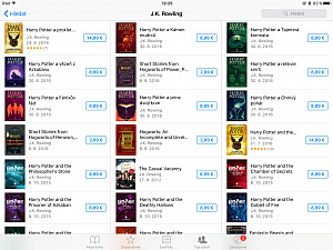 Harry Potter v iBooks