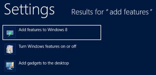 Add features to Windows 8; Zdroj: Supersite for Windows