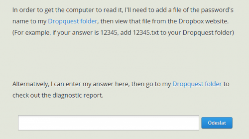 Dropbox Dropquest 2012