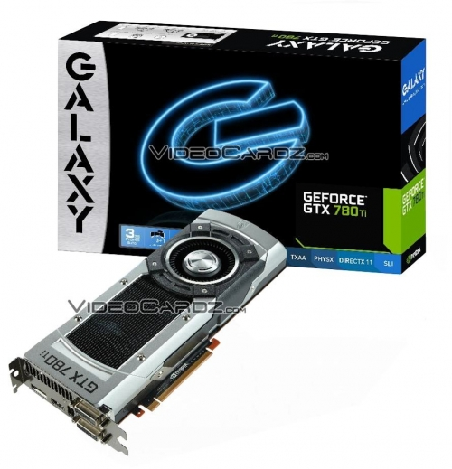 GeForce GTX 780 Ti od Galaxy (VideoCardz)