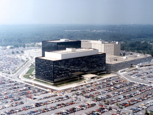 Sídlo organizace NSA ve Fort Meade (Maryland)