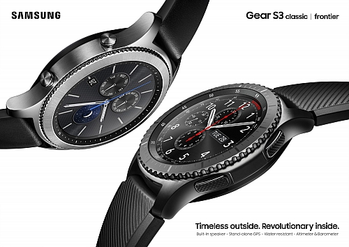 Samsung Gear S3 Classic a Frontier