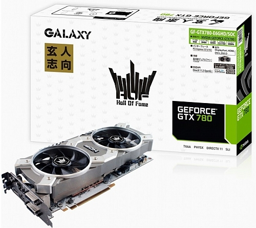 GeForce GTX 780 HOF 6 GB od Galaxy