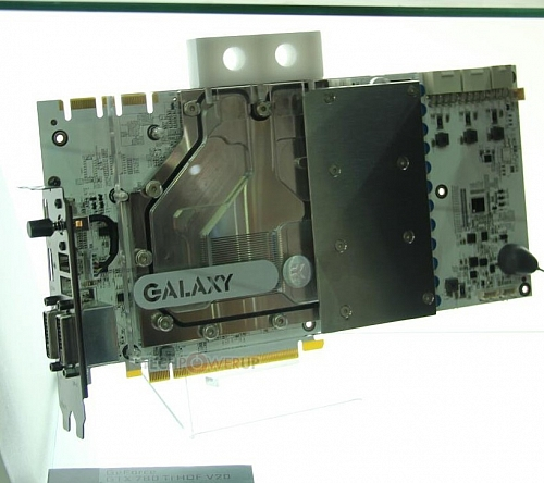 Galaxy GeForce GTX 780 Ti HOF V20 (Zdroj: techPowerUp)