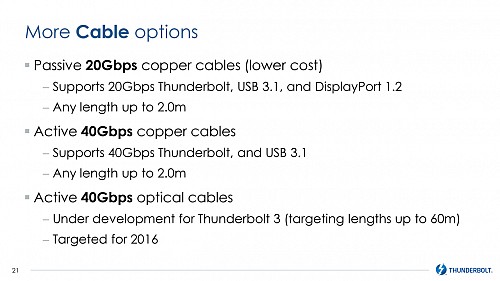 Intel Thunderbolt 3 (Computex 2015)