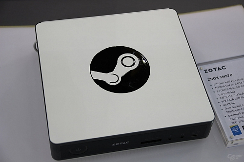 Steam Machine Zotac SN970 (Zdroj: ComputerBase)