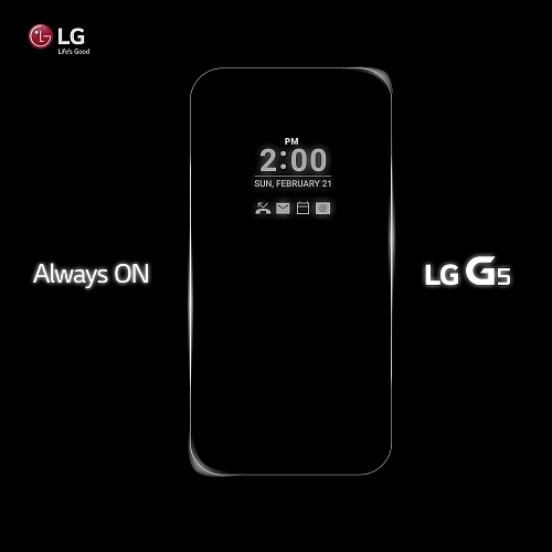 LG G5 dostane funkci Always On