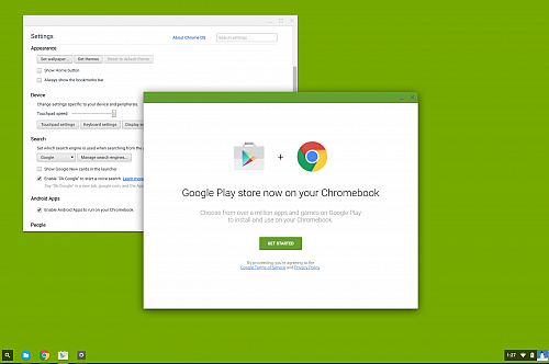 Na Chrome OS zamíří Play Store