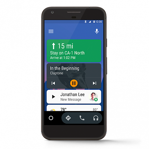 Android Auto pro mobily