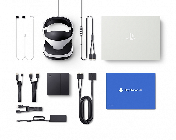 Komponenty Playstation VR