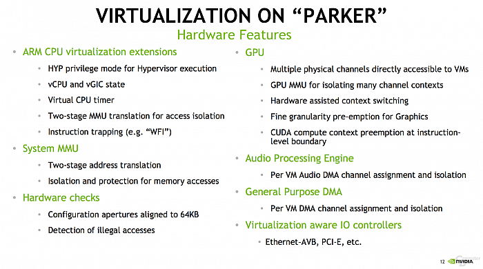 Nvidia Tegra Parker (Hot Chips 28)