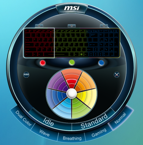 Keyboard Lighting Manager