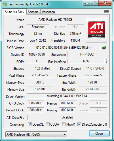 AMD A6-4400M: AMD Trinity v noteboocích (test)
