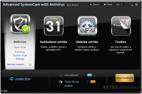 Advanced SystemCare with Antivirus 2012 beta 1.0