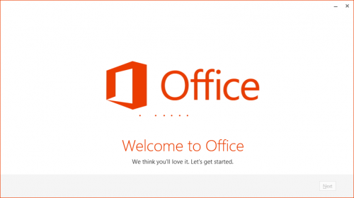 Instalace Office 2013 Customer Preview