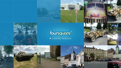 Foursquare pro Windows 8