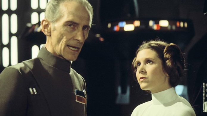 Peter Cushing a Carrie Fisher
