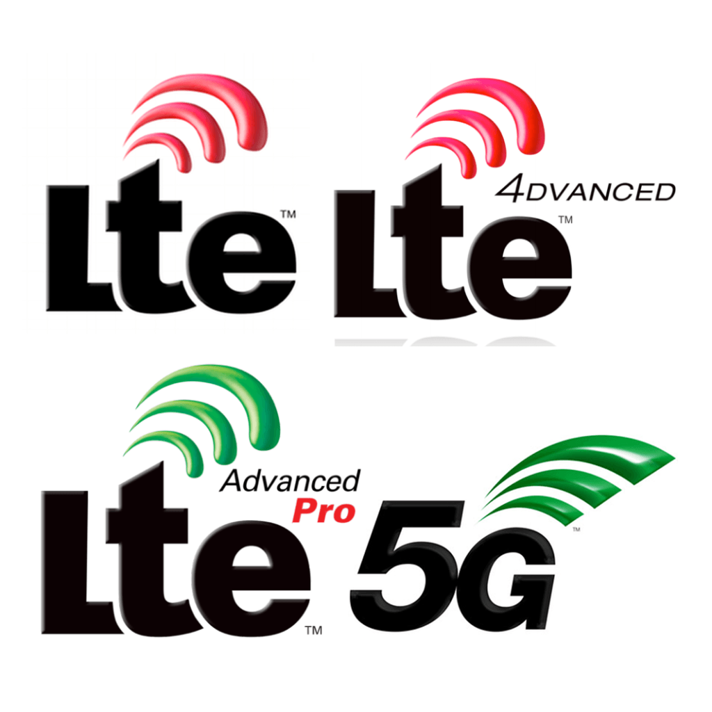 LTE, LTE Advanced, LTE Advanced Pro a 5G